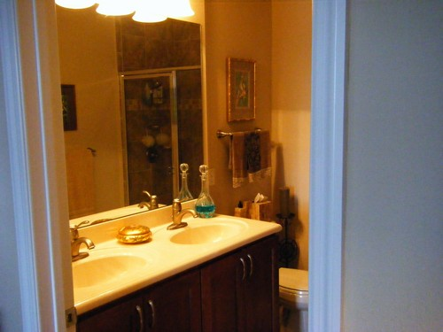 Popular Her Bath Is A Gloriously Luxurious Spa With A Lighted Vanity Area And