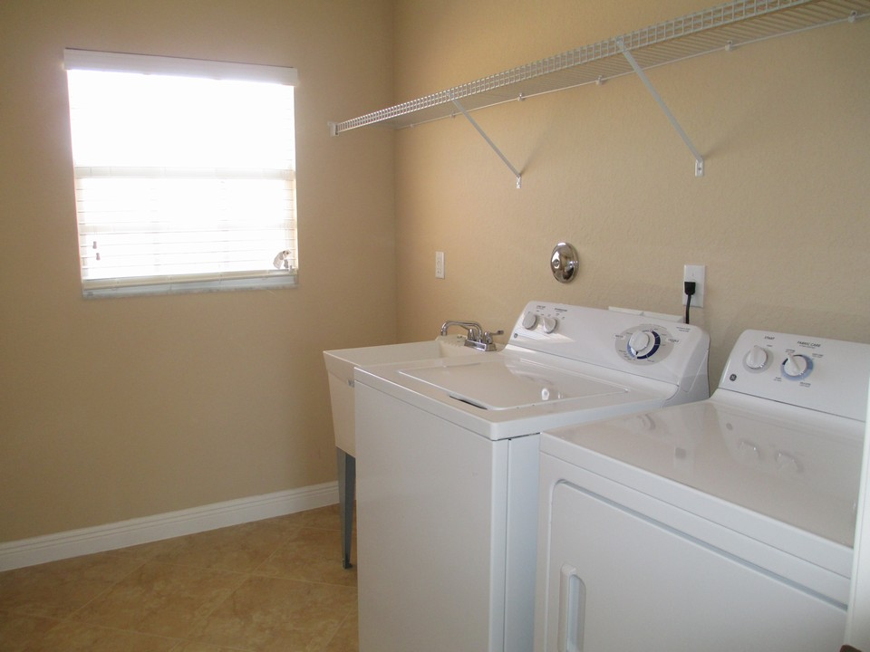 laundry room with sink on 2nd. floor