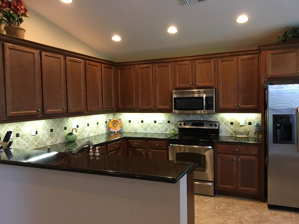 granite counters, ss appliances