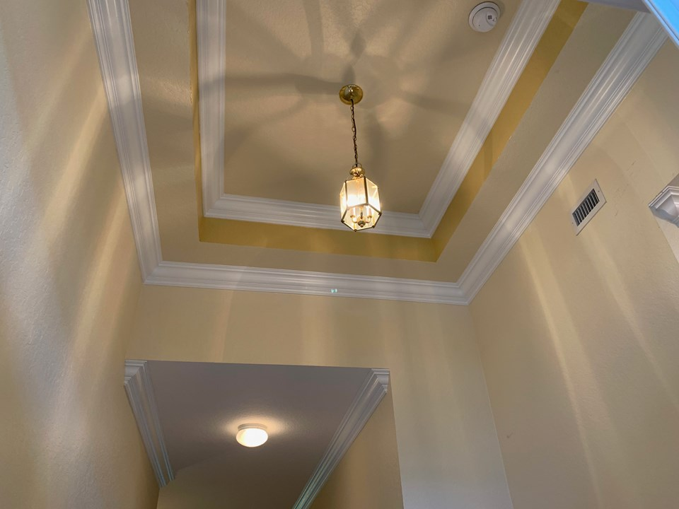 elegant foyer ceiling